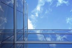 Cristal building Stock Photos