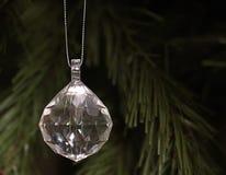 Cristal colgante Fotografía de archivo