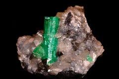 Cristal d'émeraude Image stock