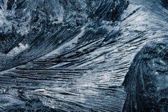 Cristal d'Ise sur la glace photographie stock