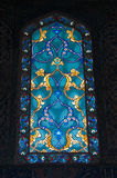 Cristal de colores Imagen de archivo libre de regalías