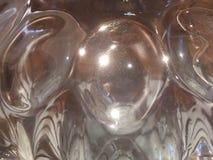 Cristal de cristal Foto de archivo libre de regalías