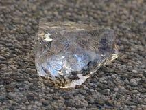 Cristal de gelo Fotografia de Stock Royalty Free
