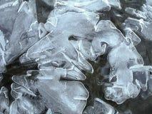Cristal de gelo natural Imagens de Stock Royalty Free