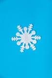 Cristal de glace de Noël Image libre de droits