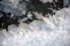 Cristal de hielo imagenes de archivo