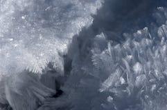 Cristal de la nieve Fotografía de archivo libre de regalías