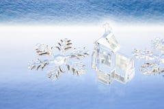 Cristal de neige photographie stock