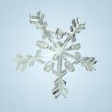 Cristal 3 de neige Photos stock