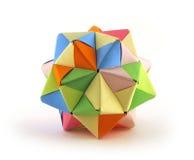 Cristal de Origami Fotografía de archivo