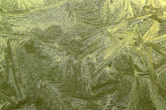 Cristal de oro Imagenes de archivo