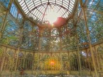 cristal de palacio Στοκ φωτογραφία με δικαίωμα ελεύθερης χρήσης