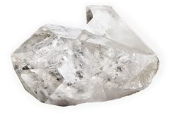 Cristal de quartz Photographie stock libre de droits