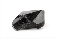Cristal de quartzo preto Fotografia de Stock