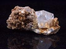 Cristal de roca Foto de archivo libre de regalías