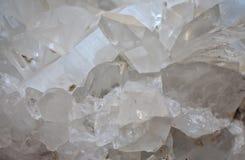 Cristal de roche Photos stock
