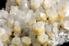 Cristal de roche Photographie stock