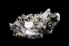 Cristal de roche Photo libre de droits