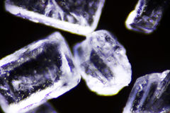 Cristal de sucre Photos libres de droits
