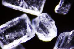 Cristal del azúcar Fotos de archivo libres de regalías