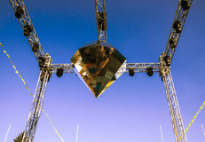 Cristal do metal imagem de stock royalty free