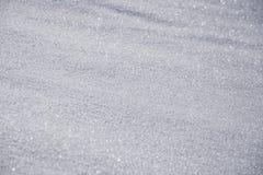 Cristal efervescente da neve Imagens de Stock Royalty Free