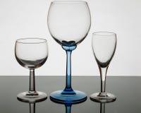 Cristal en transparencia Imagen de archivo libre de regalías