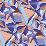 Cristal Fondo geométrico inconsútil 3D libre illustration