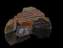 Cristal, gemme cristal, gemme, minerai, quartz, précieux, bijoux, géologie, nature, beau, naturelle, agate, brillante, richesse,  Image stock