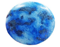 Cristal geológico de Lazurite Imagen de archivo