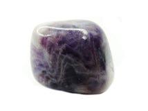 Cristal geológico mineral de la amatista Fotografía de archivo libre de regalías