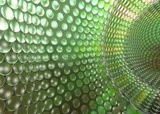 cristal grön techtunel Royaltyfri Illustrationer