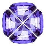 Cristal hermoso del diamante Fotos de archivo libres de regalías