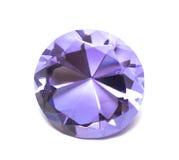 Cristal hermoso del diamante Imagen de archivo libre de regalías