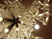 Cristal más chandlier Imagen de archivo