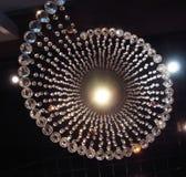 Cristal más chandlier Foto de archivo libre de regalías