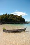 Cristal - mer claire au Madagascar Images stock