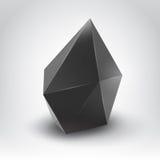 Cristal oscuro Foto de archivo libre de regalías