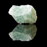 Cristal ou mineral da fluorite imagem de stock royalty free