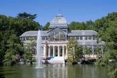Cristal Palace Royalty Free Stock Photos