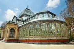 cristal palacio de Μαδρίτη Στοκ Φωτογραφίες