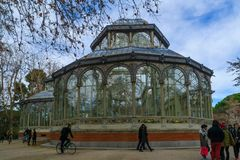 cristal palacio de madrid Стоковое фото RF