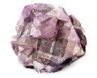 Cristal púrpura Fotos de archivo libres de regalías