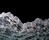 Cristal quebrado Fotografia de Stock Royalty Free
