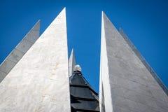 Cristal sobre o templo da benevolência - boa Vontade - Brasília de Templo a Dinamarca, Distrito federal, Brasil imagem de stock royalty free