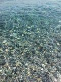 Cristal vatten Arkivfoto