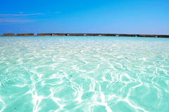 Cristal water. Ellaidhoo, North Ari Atoll, Maldives Stock Image