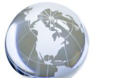 Cristal world stock image