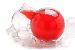 Cristalería esférica Foto de archivo