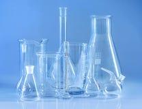 Cristalería química Imágenes de archivo libres de regalías